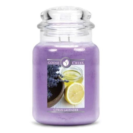 Citrus Lavender Jar Candle
