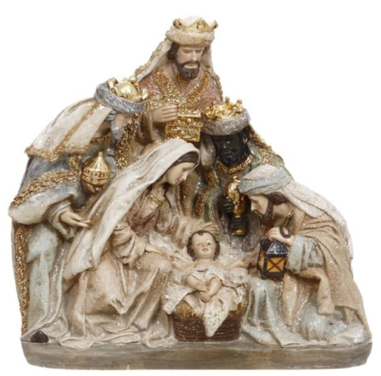 Holy Family With Three Kings