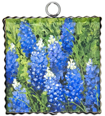 RT Blue Bonnet Mini Charm