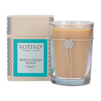 White Ocean Sands Scented Jar Candle- 14.5oz