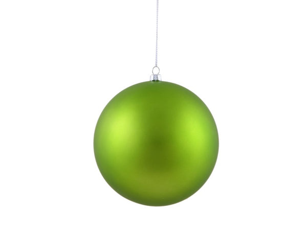 Green Pearl Plastic Ornament