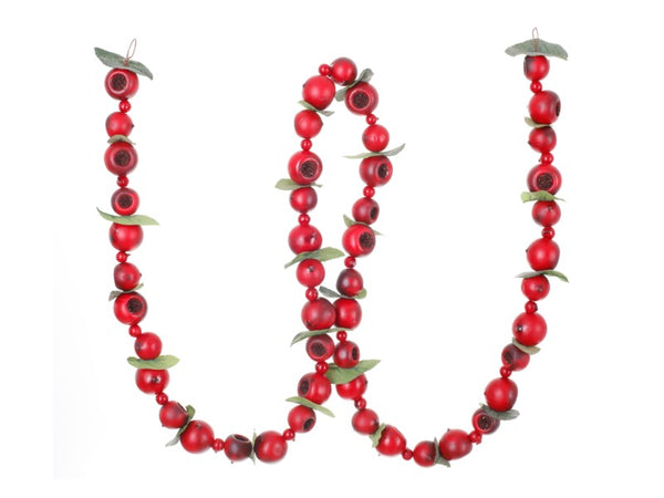 Red & Green Pod Garland