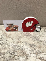 Whitharreal Panther Helmet 4x6 photo frame