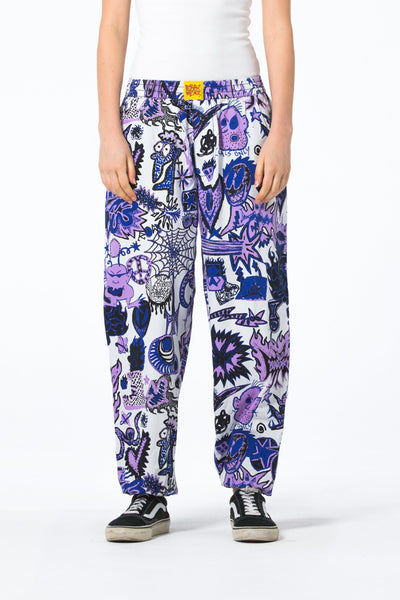 Womens Elastic Cuff Hugger Pant - Locals Only - R8gzwear