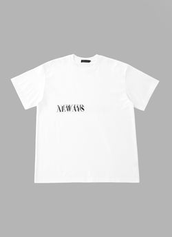 NEVER IN STOCK T-WHITE
