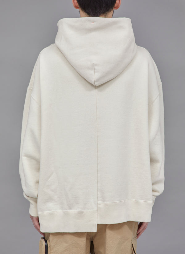 SWITCHED SHOELACE PULLOVER-BEIGE
