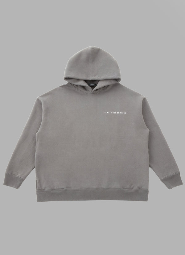 FRONT SIDE BACK THICK PULLOVER-CHARCOAL