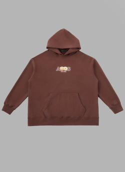 ALWAYS OUT OF STOCK × CLUB HARIE PULLOVER-BROWN