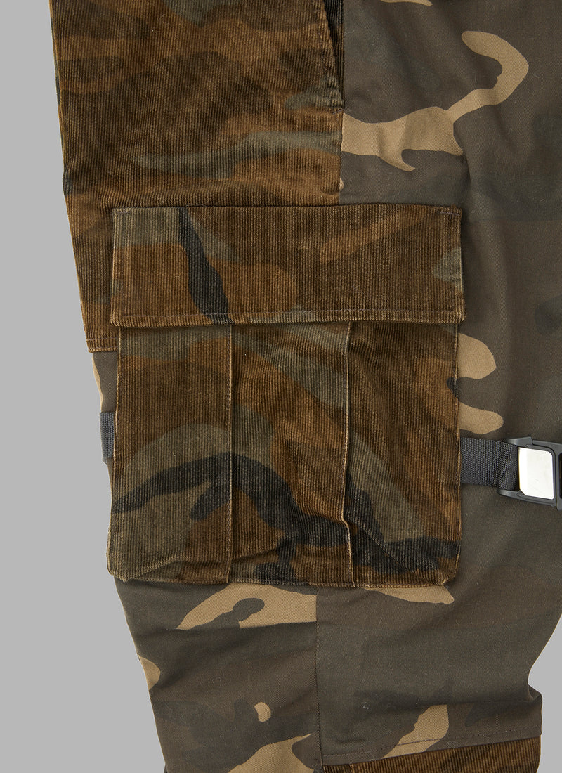 COMBI UTILITY FATIGUE PANTS-CAMO