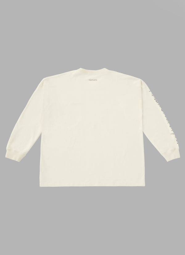 ALWAYS OUT OF STOCK × CLUB HARIE CRUSH ON YOU L/S TEE-BEIGE