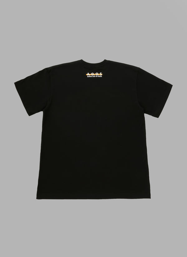 GAME SHIRTS TEE-BLACK