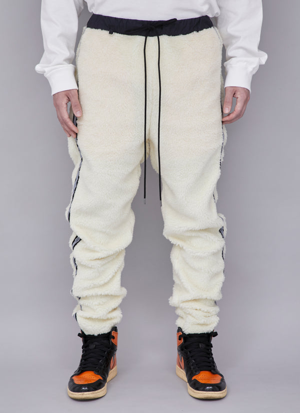 BOA SIDE CHAPTER PANTS-WHITE