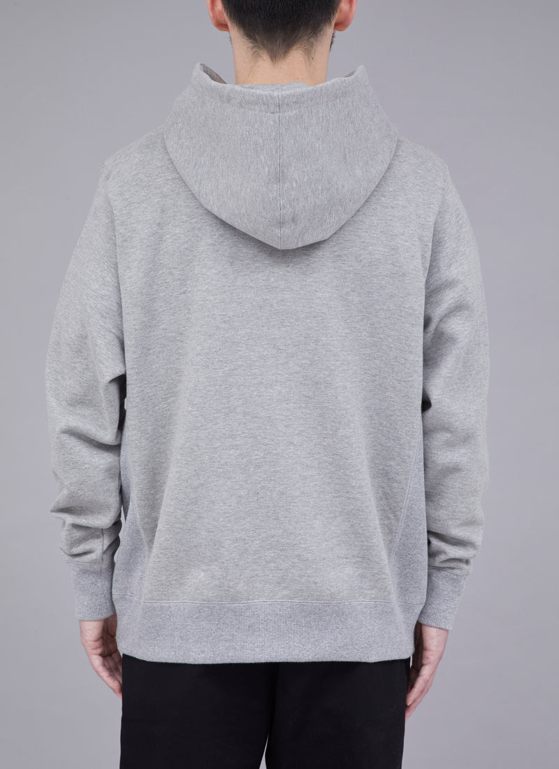 PAISLEY SHOELACE PULLOVER-GREY