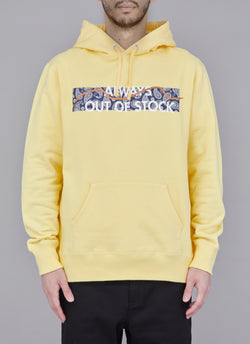 PAISLEY SHOELACE PULLOVER-YELLOW