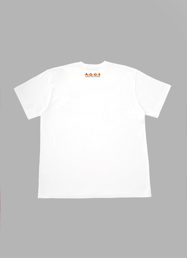 GAME SHIRTS TEE-WHITE