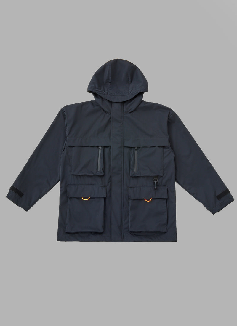 THREE LAYER HOODED FIELD JACKET