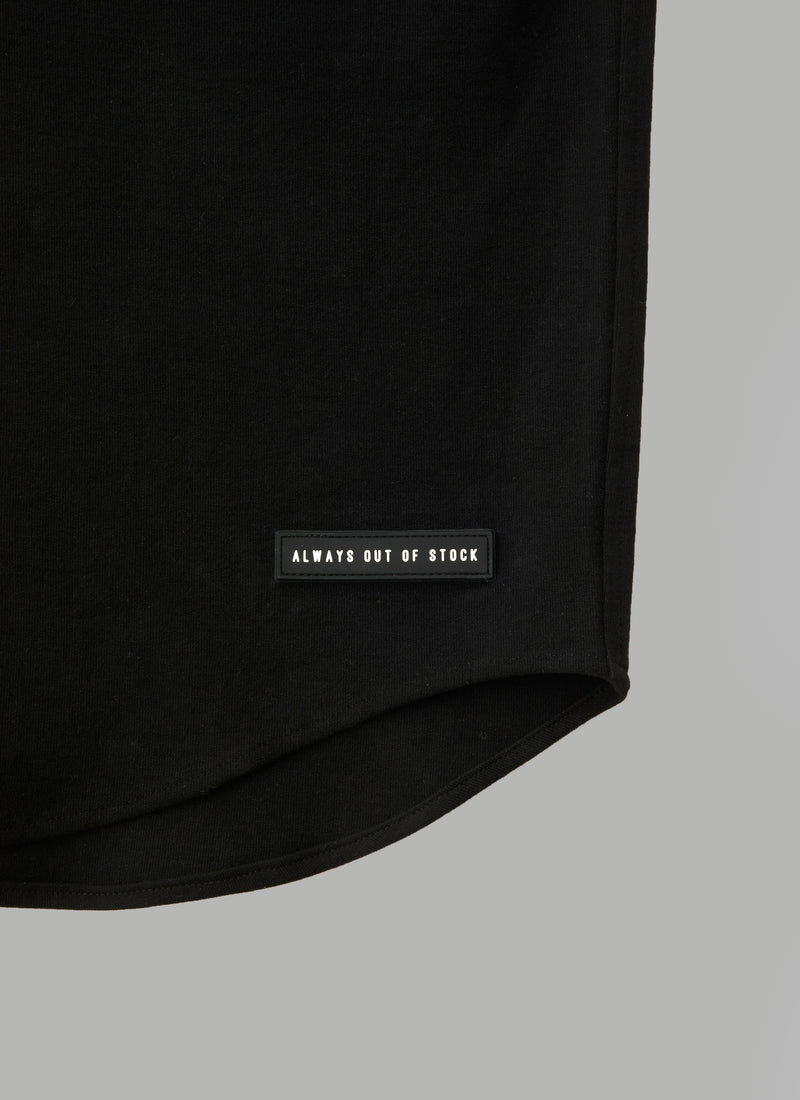BASEBALL SHIRTS-BLACK