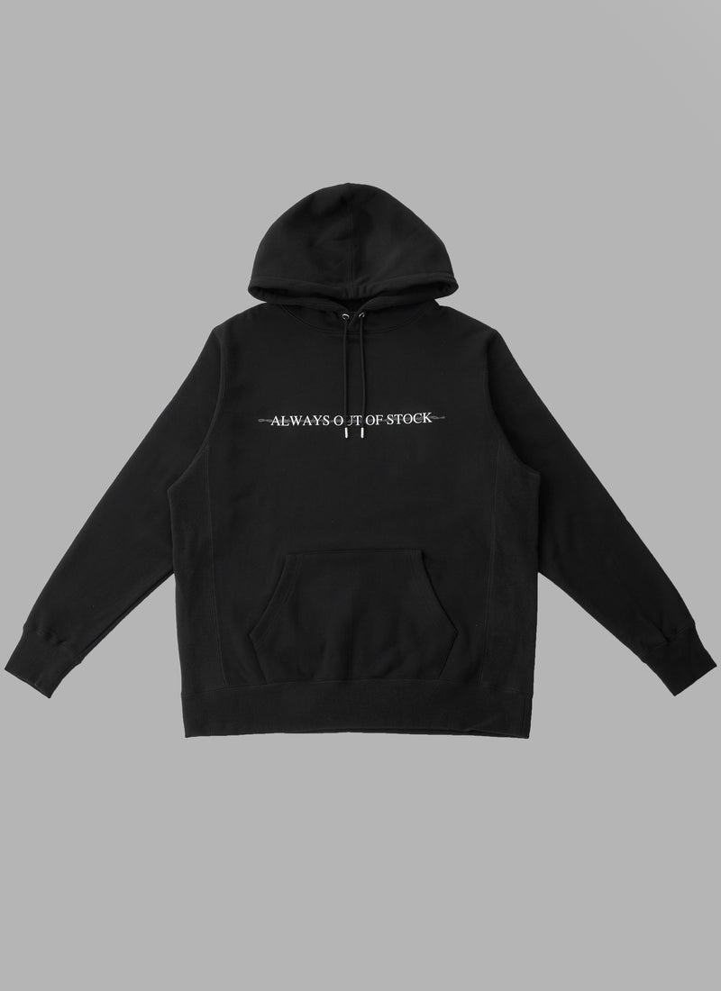 BARBED WIRE PULLOVER-BLACK