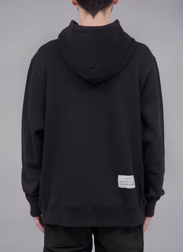 "ALWAYS OUT OF STOCK × VISIONARISM WATER REFLECTION PULLOVER-BLACK  ""MIDNIGHT BLOSSOM"""