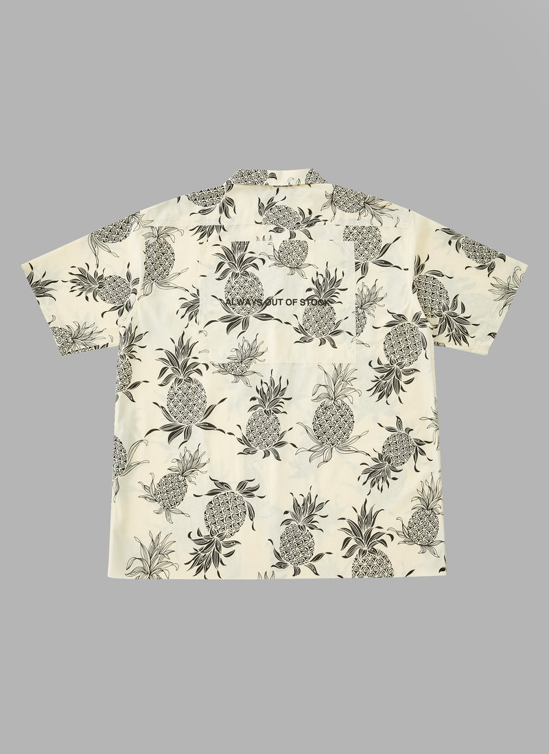 HAWAIIAN S/S SHIRTS-PINEAPPLE
