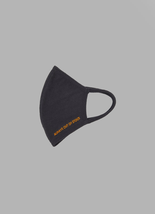 LOGO MASK-BLACK