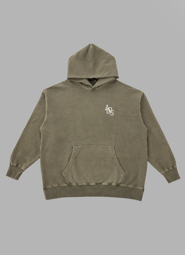 PIGMENT PULLOVER-OLIVE