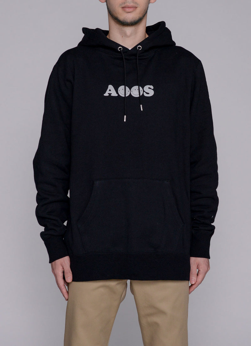 ALWAYS SMILE HOODIE-BLACK