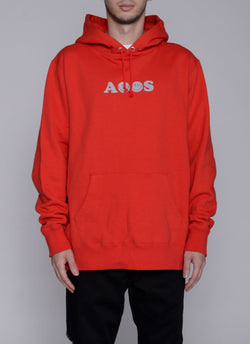ALWAYS SMILE HOODIE-RED