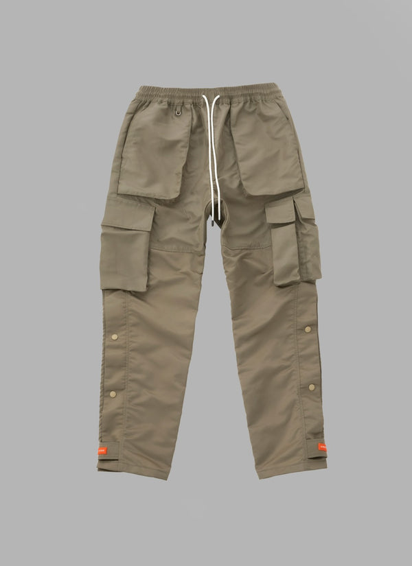 ACTIVE FATIGUE PANTS-BEIGE