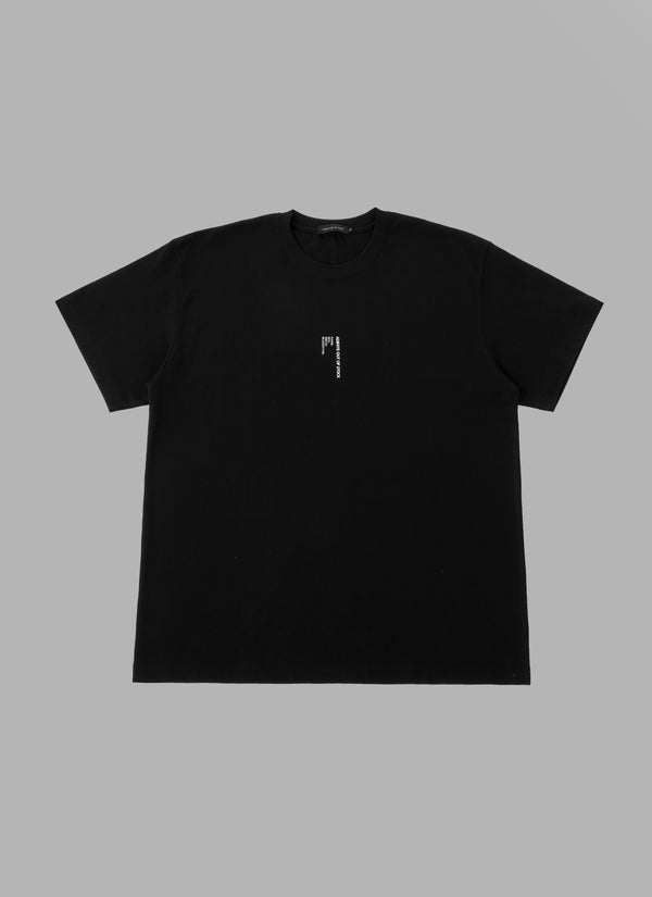 DOG TAG TEE-BLACK
