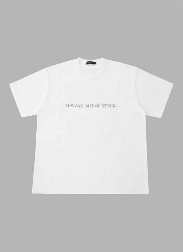 BARBED WIRE TEE-WHITE