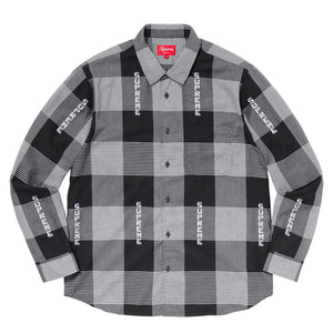 【Supreme】LOGO PLAID SHIRT