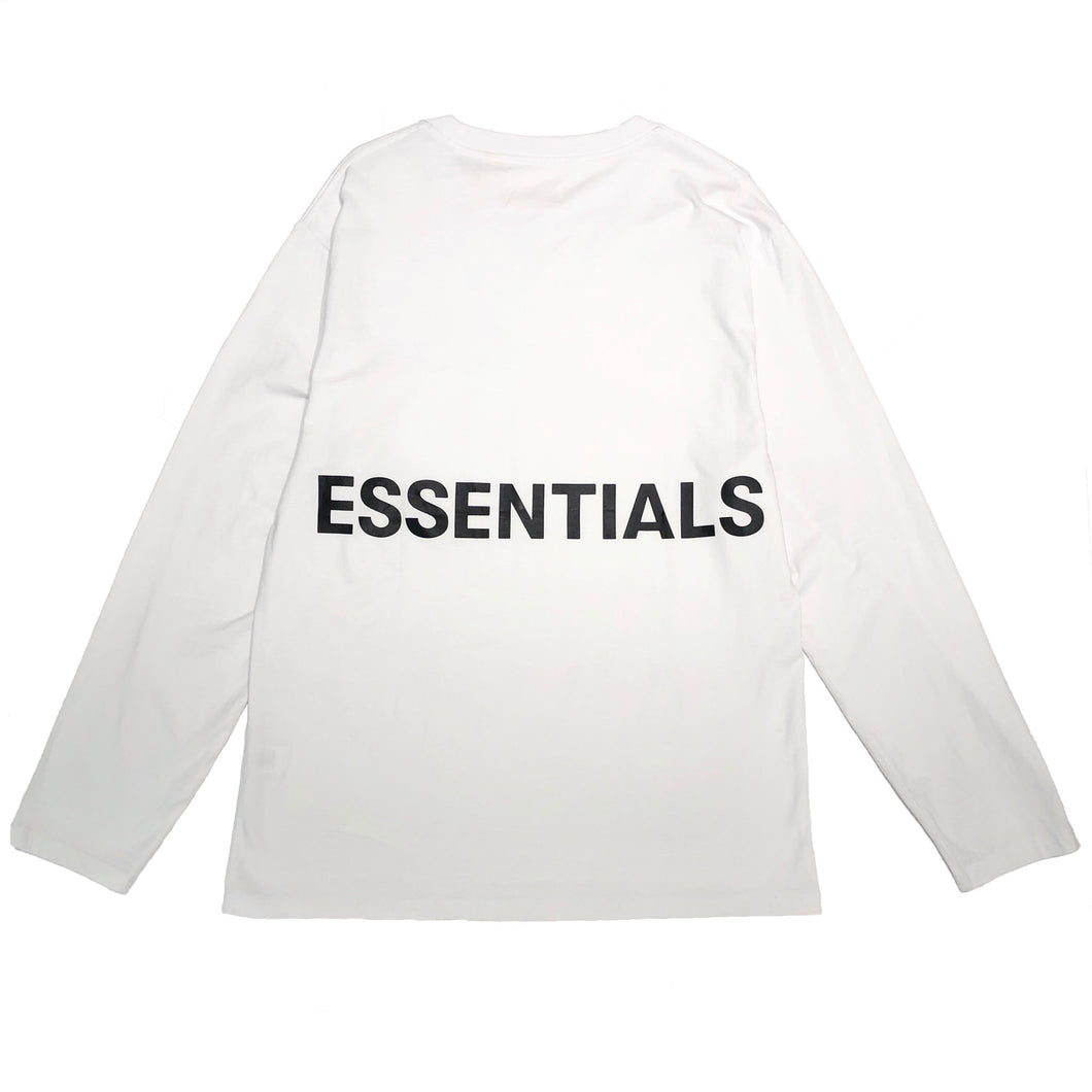 【FOG ESSENTIALS】FOG BOXY GRAPHIC LS TEE BRIGHT WHITE