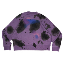 Load image into Gallery viewer, 【Palm Angels】AIR TIE DYE CREW LILAC BLACK