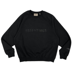 【FOG ESSENTIALS】ESSENTIALS FRONT CREW SWEAT SHIRT BLACK