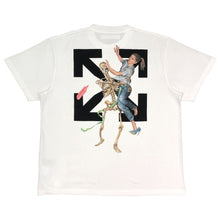 画像をギャラリービューアに読み込む, 【Off-White】PASCAL SKELETON S/S OVER TEE WHITE BLACK
