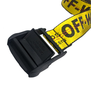 【Off-White】CARRYOVER INDUSTRIAL BELT YELLOW NO COLOR