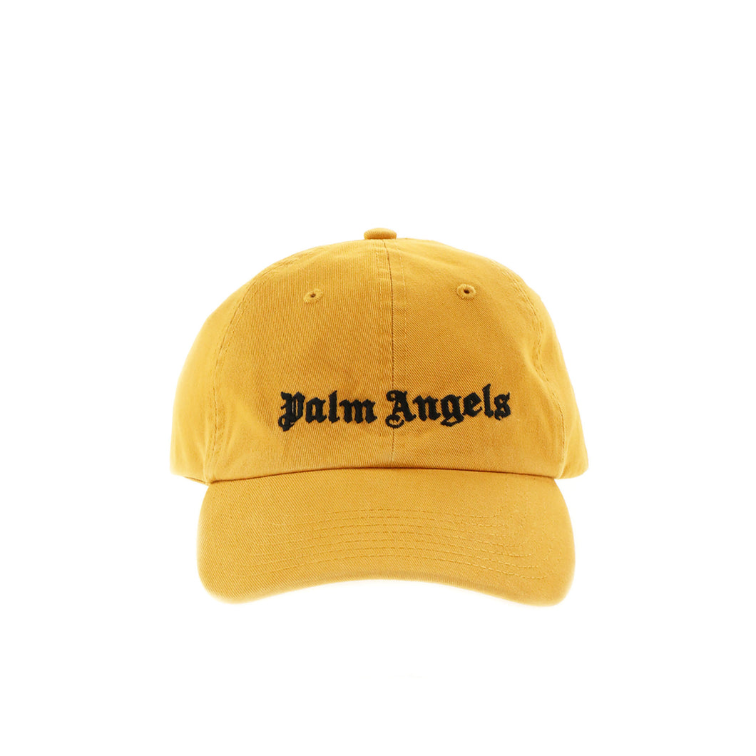 【Palm Angels】CLASSIC LOGO CAP AUTUMN BLAZE BLACK