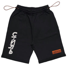 画像をギャラリービューアに読み込む, 【HERON PRESTON】FLEECE SHORTS CTNMB SPRAY VER BLACK WHIT