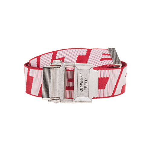【Off-White】2.0 INDUSTRIAL BELT SHORT RED WHITE