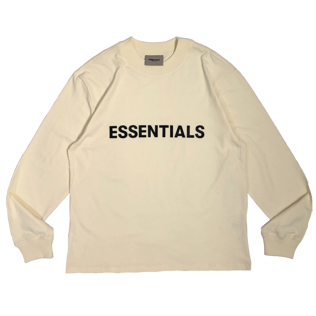 【FOG ESSENTIALS】ESSENTIALS LS TEE CREAM