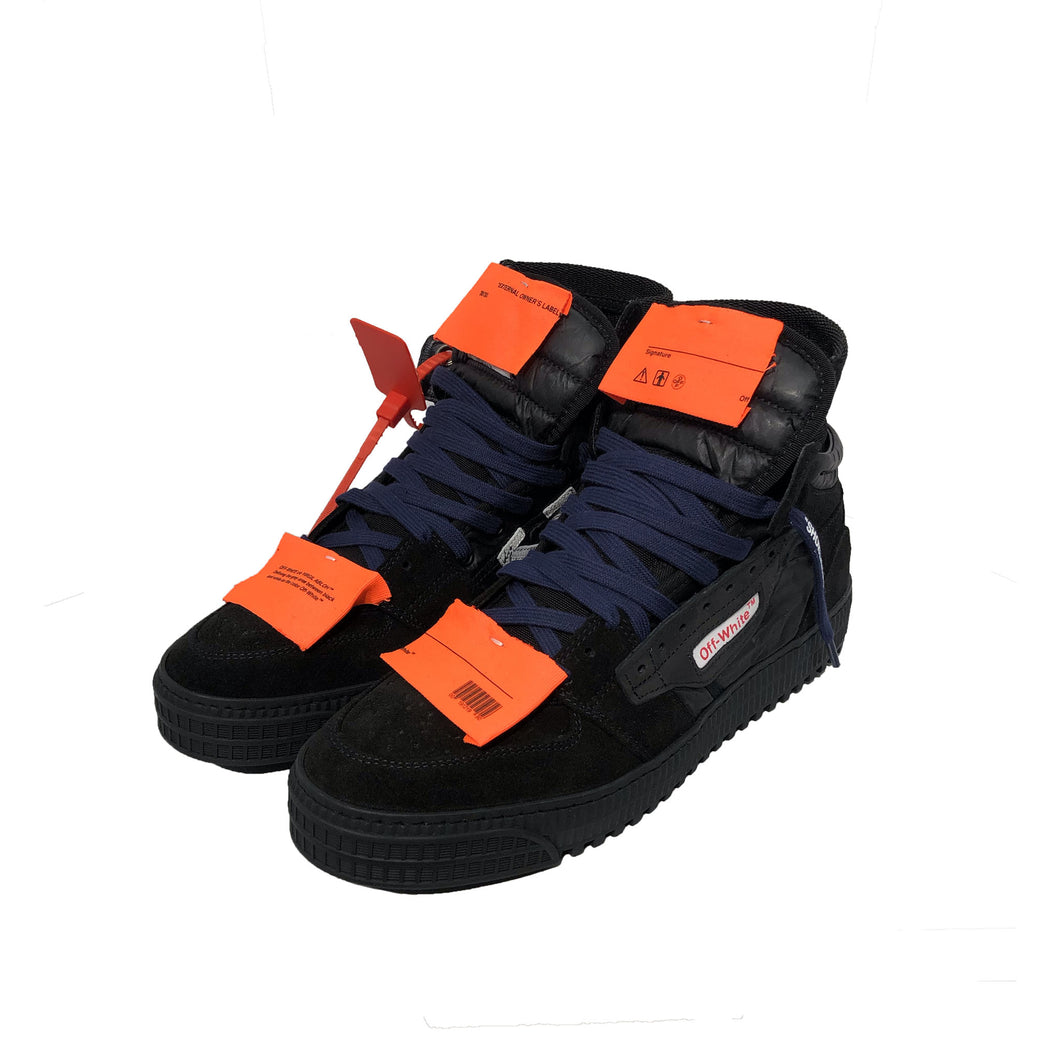 【Off-White】OFF COURT SNEAKER BLACK NO COLOR