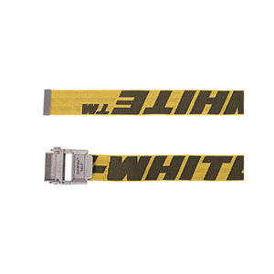 【Off-White】2.0 INDUSTRIAL BELT SHORT YELLOW BLACK