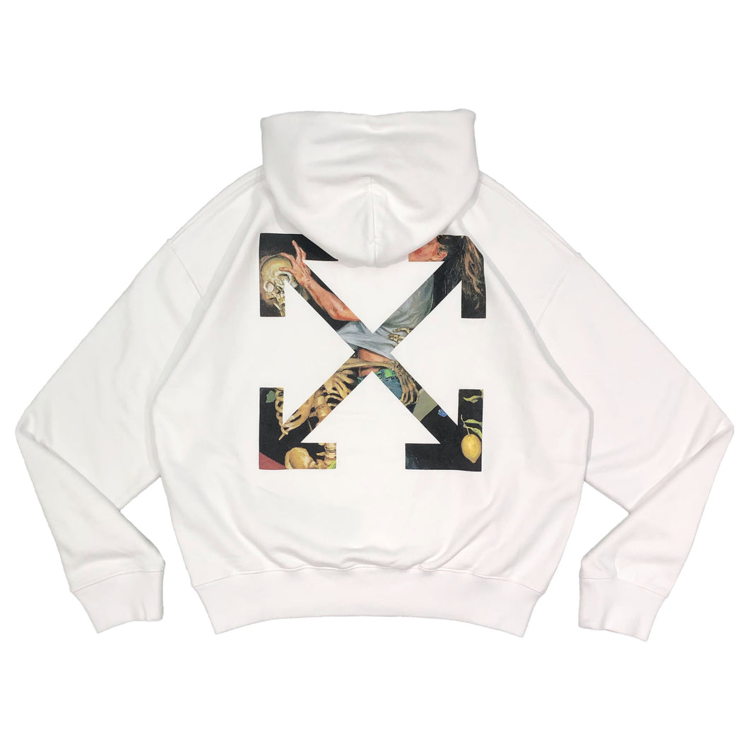 【Off-White】PASCAL ARROW OVER HOODIE WHITE BLACK