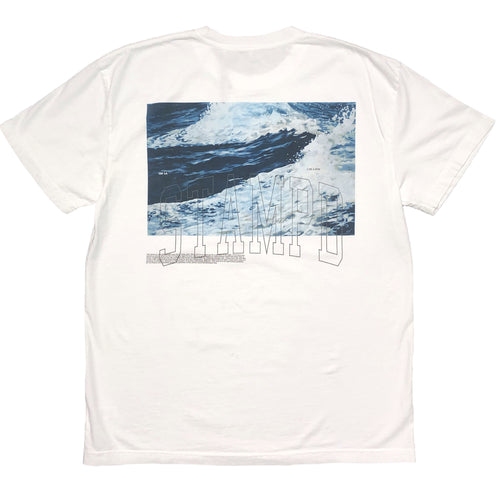【STAMPD】WAVE TEE / WHT