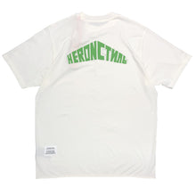 画像をギャラリービューアに読み込む, 【HERON PRESTON】T-SHIRT OVER STYLE LOGO WHITE GREEN