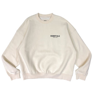 【FOG ESSENTIALS】ESSENTIALS CREW SWEAT SHIRT CREAM