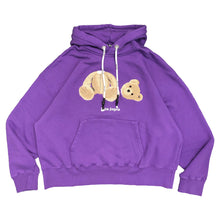画像をギャラリービューアに読み込む, 【Palm Angels】PALM ANGELS BEAR HOODY PURPLE BROWN