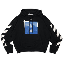 画像をギャラリービューアに読み込む, 【Off-White】BLUE MONALISA OVER HOODIE BLACK WHITE