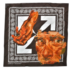 【Off-White】PASCAL FACE BANDANA BROWN PINK